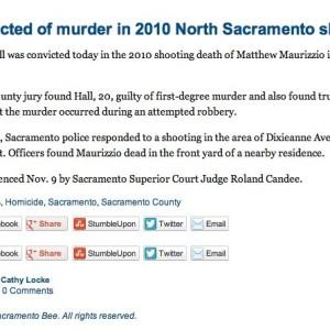 Victim Matthew Maurizzio